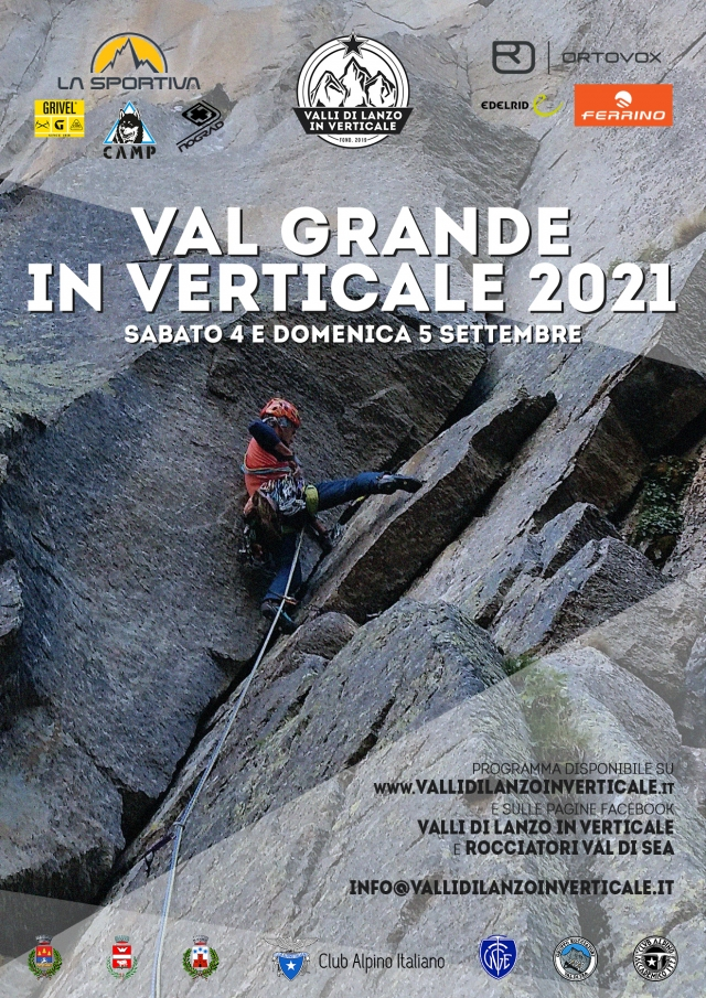 MEETING VALGRANDEINVERTICALE  4 - 5 settembre 2021